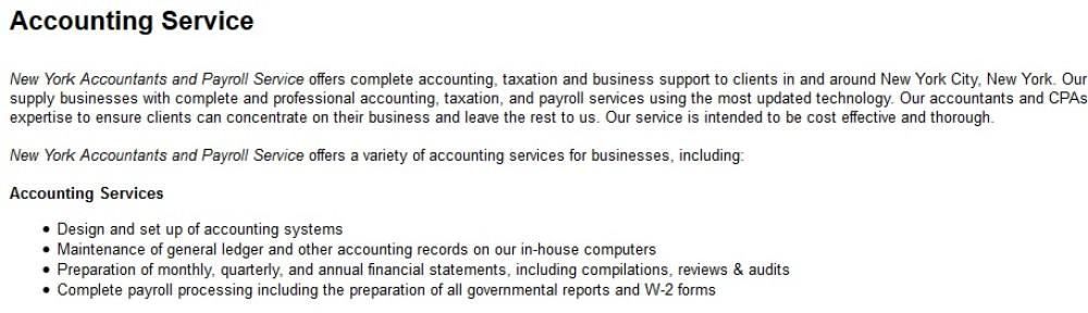 Newyork accountant finder